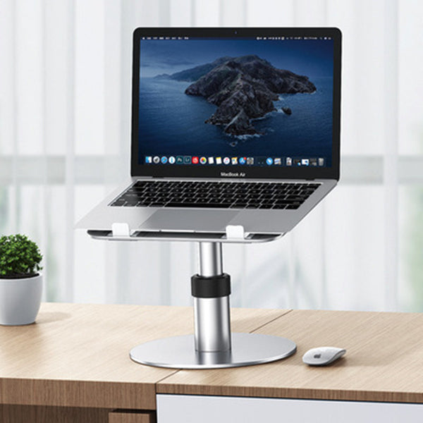 Versatile Laptop Stand, with Adjustable Height, Angle & Rotatable Design, for Home & Office