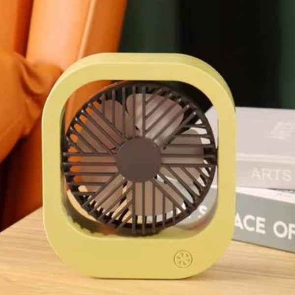 Portable USB Fan, with 3 Speed Settings and Adjustable Angle, for Home & Office