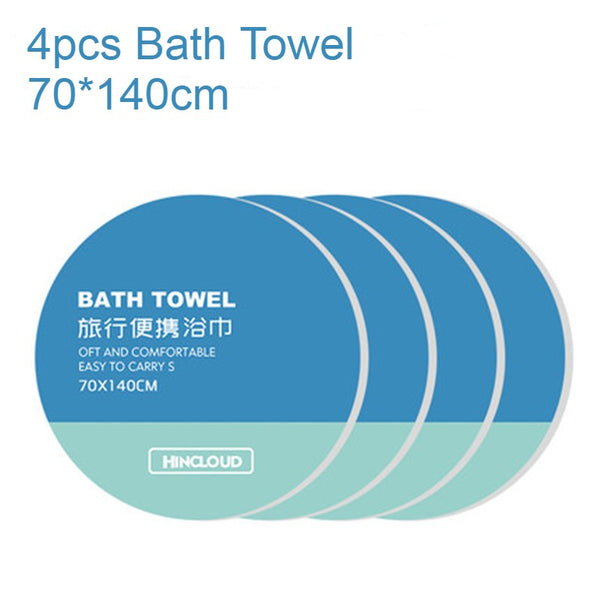 Disposable Compressed Towel Tablets, with Soft & Durable Fabric, for Face and Body, for Travel, Camping & More