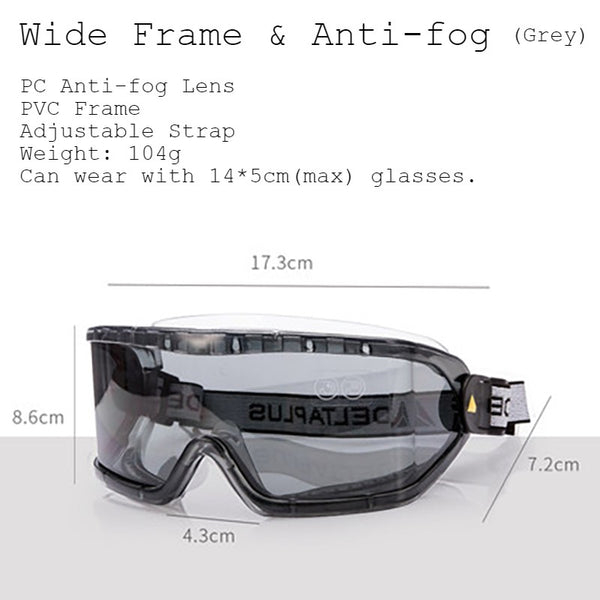 Multifunctional and Portable Goggles, Anti-impact, Anti-sand, Anti-UV, Anti-fog and Anti-splash, for Travel, Outdoor Activities and More