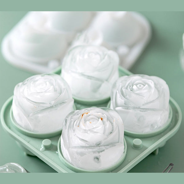 Romantic Rose Ice Cube Tray, for Ice, Baking & More