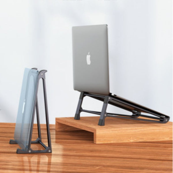 Aluminum Ergonomic Laptop Stand, with Detachable & Easy-to-Assemble Design, for Home & Office