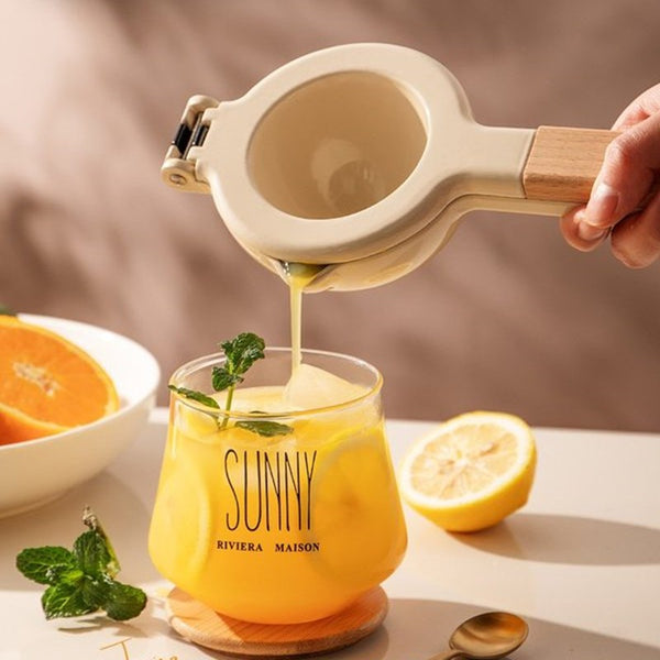 Manual Lemon Squeezer, Easy to Use & Clean, for Juicing Lemons & Limes