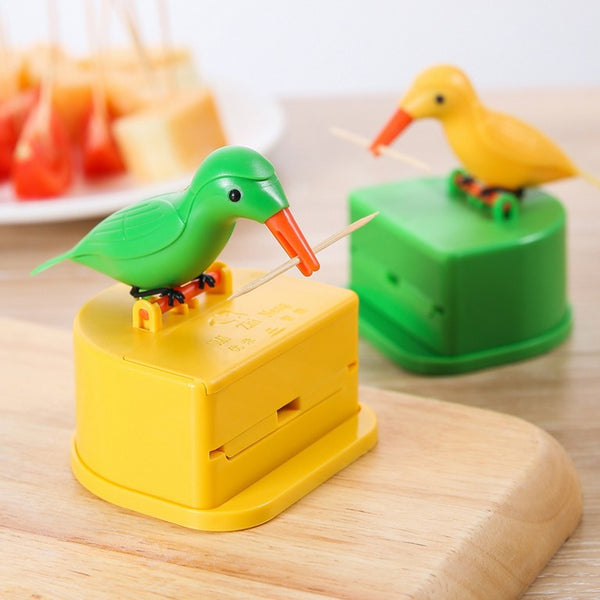 Cute Unique Bird Toothpick Dispenser, for Kitchen, Dining Table & Gift