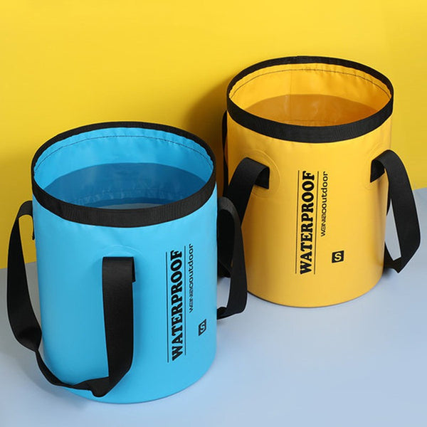 Portable Collapsible Bucket, Lightweight & Durable, for Garden, Camping, Fishing & Travel