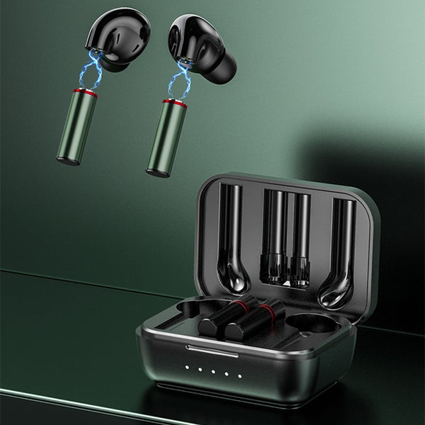 Magnetic Wireless In-ear Bluetooth 5.0 Earbuds, with Replaceable Magnetic Battery, for Sports, Studying, Calling
