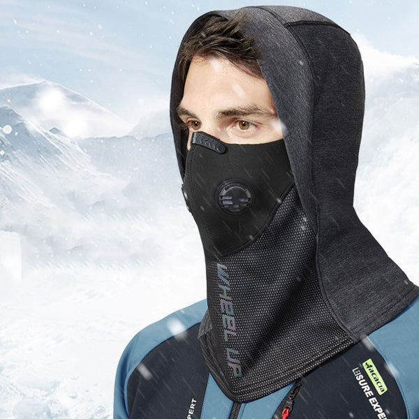 Windproof Thermal Balaclava, with Brim, Face and Neck Cover, for Cycling, Motorcycle Riding, Skiing & More