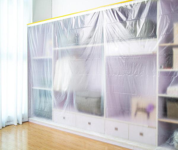 Multi-purpose Clear Plastic Anti-dust Cover, Durable & Waterproof, for Sofa, Closet, Couch, Table & More