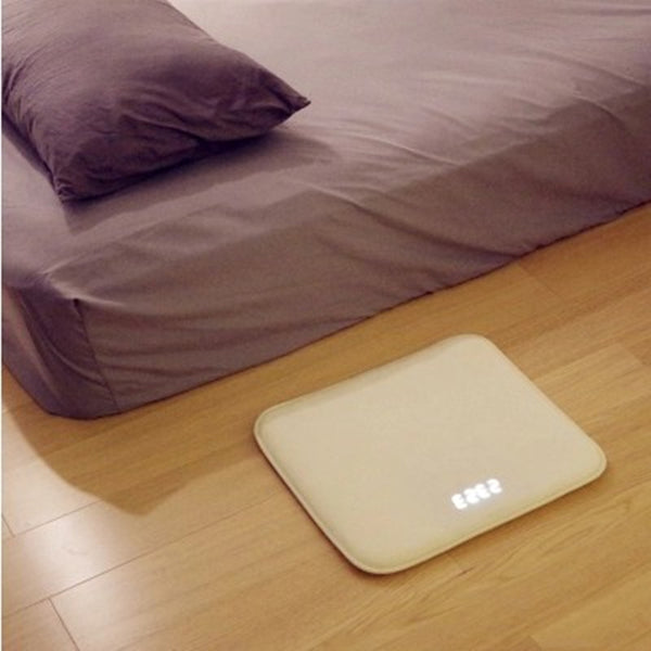 Pressure Sensitive Alarm Clock Carpet, with Electronic Digital Clock & Anti-Slip Wear-Resisting Soft Material