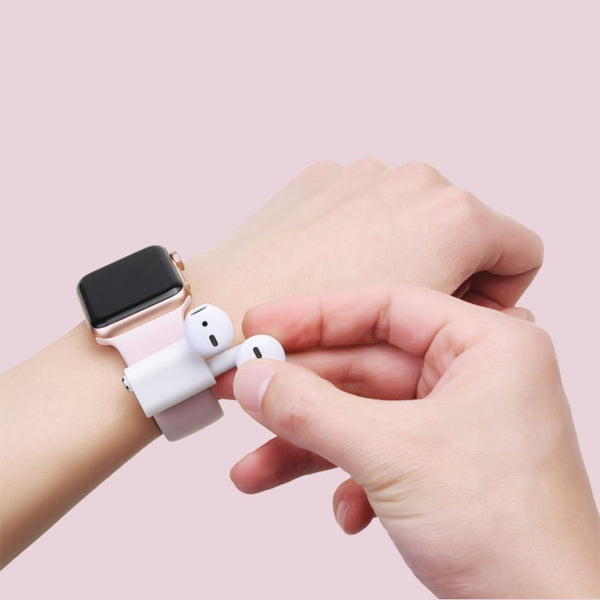 Anti-Lost Airpods Watch Strap Holder, for Sports, Exercise, Working, Compatible with Apple AirPods/AirPods Pro