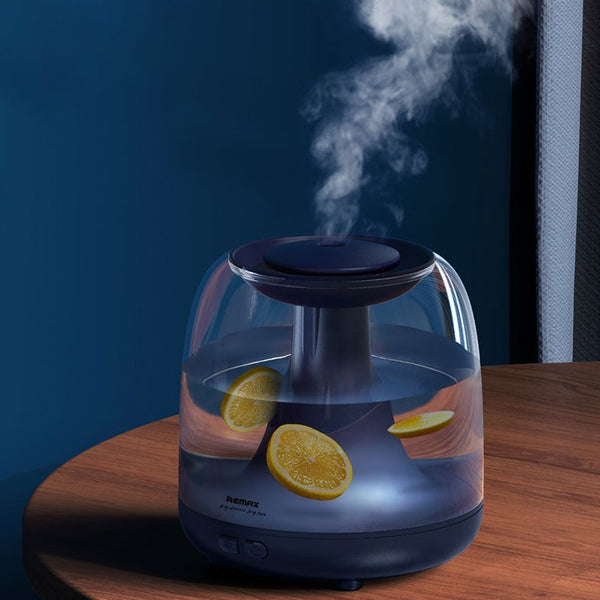 Humidifier with 1.2L Large Capacity, Night Light & Dry Burning-resistant Protection, for Home & Office