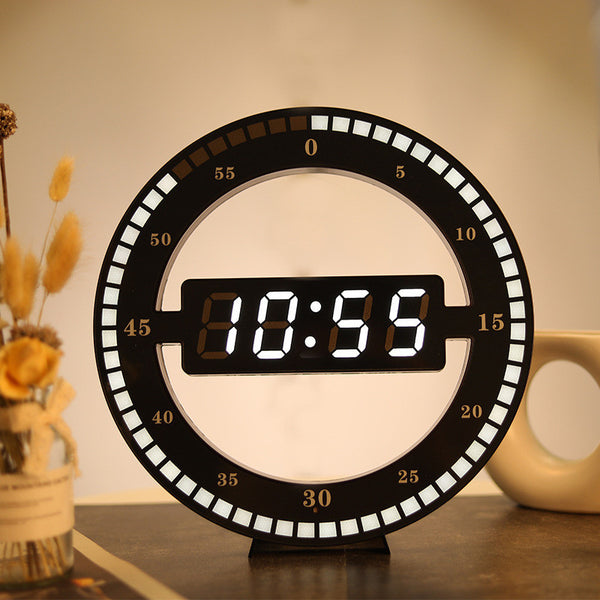 The Simplest and Coolest LED Wall Clock, for Home, Office & More