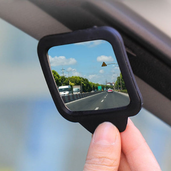 Rear View Facing Back Seat Mirror, with Adjustable Angle, for Safety, Reversing, Clear Blind Spot, Monitor Your Baby & More (2-Pack)