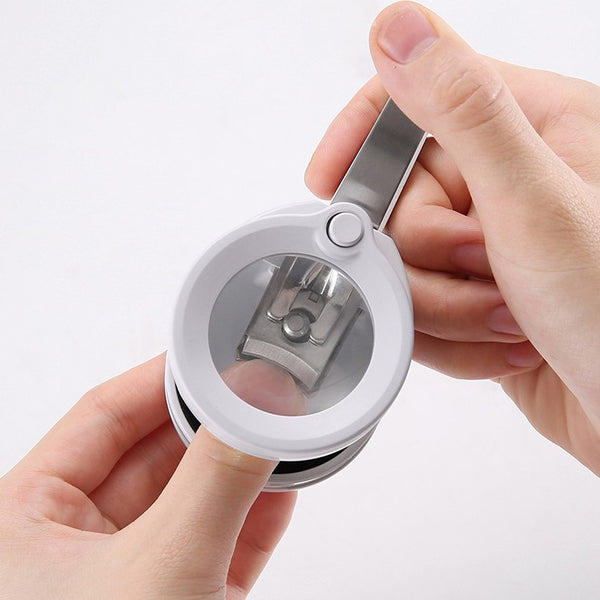 Nail Clipper with 3.5x Zoom Magnifying Glass and Light, for Seniors & Children