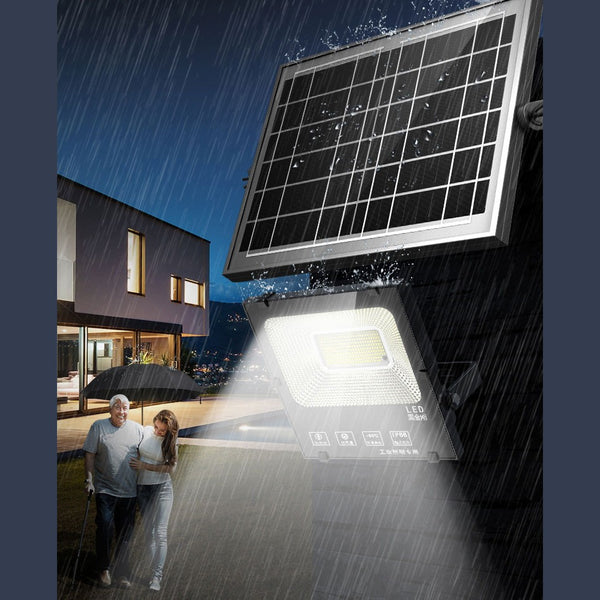 Outdoor Solar Light, with Remote Control, 7 Modes & IP66 Waterproof, for Your Garden, Yard, Pathway, Driveway & Home