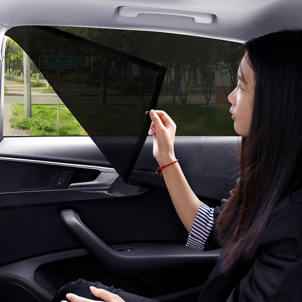 Universal Car Side Window Sun Shade, with Magnetic Fix, Compatible with Most Vehicles