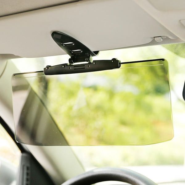 Car Anti-Glare Anti-UV Sun Visor, with Adjustable Angle, Compatible with All Types of Vehicles