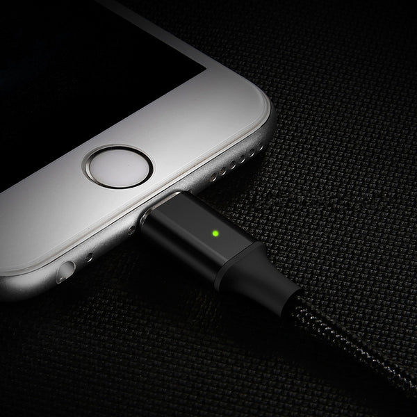 The Magnetic USB Cable To Seamlessly Charge and Sync Your iPhone/iPad
