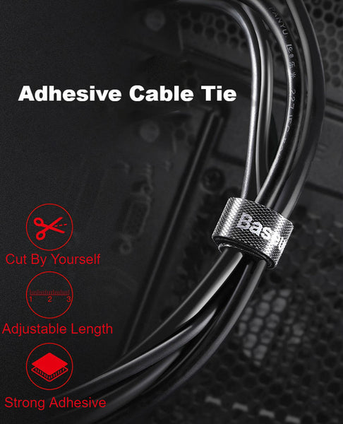 Adhesive Cable Tie: Manage The Mess