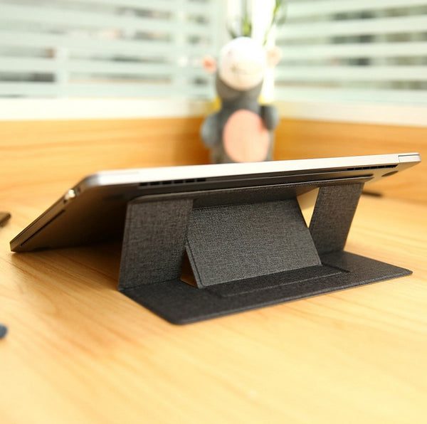 Invisible Laptop Stand -- Lightweight, Portable & Convenient