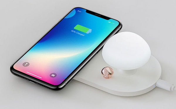 Keep Your Bedside Table and Your Phone at Their Best with 2-in-1 Nightlight & Wireless Charging Pad