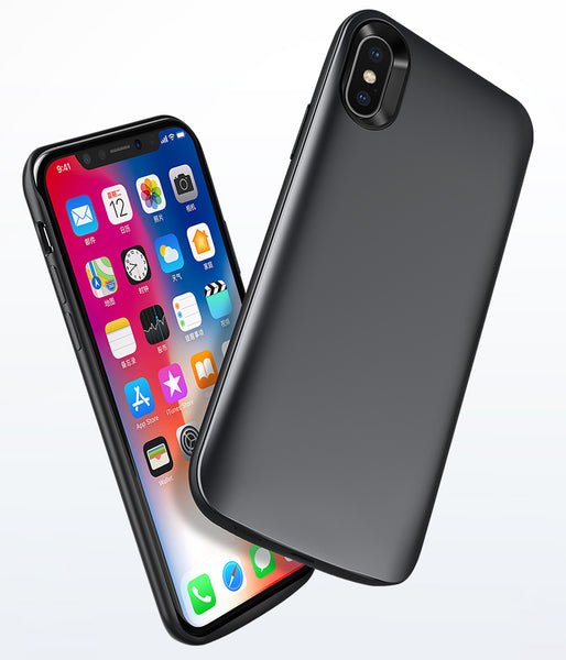 Smart & Soft Full-protection iPhone X Battery Case - Must-have Accessory for iPhone X