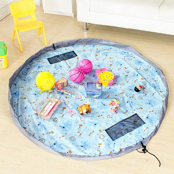 The Most Convenient Toy Storage Bag and Floor Activity Mat