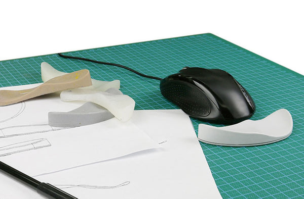 Get Sticky with Your Mouse Comfortably with Silicone Wrist Rest