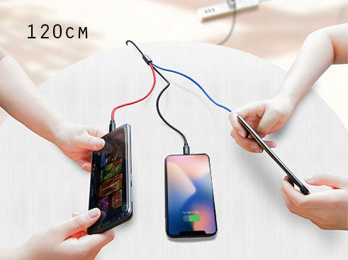 3-in-1 Fast Charge Cable - Carry One and Charge All