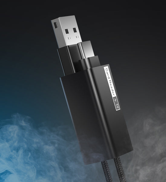 Never Suffer with Full Memory or Low Battery Headache with 2-in-1 Type-C Card Reader Cable