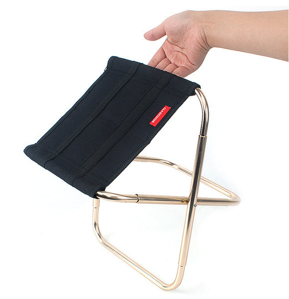 Rest on the Go Easily & Securely with Foldable Portable Chair