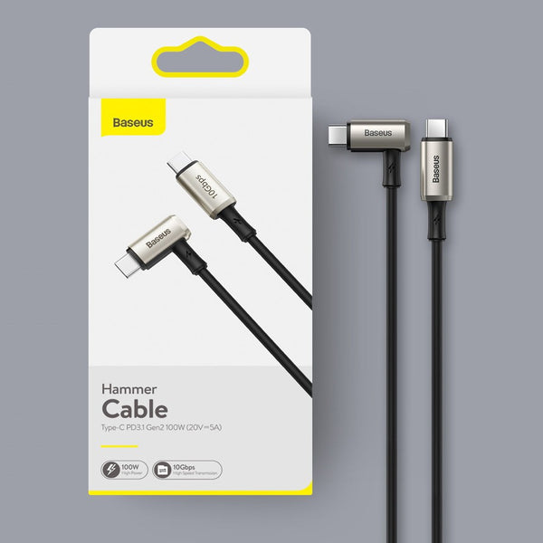 PD3.1 100W USB-C to Type-C Cable (1.5m), with 10Gbps Transmission, 5A High Current, Thick Core and Anti-breaking Design, for MacBook, iPad Pro and More