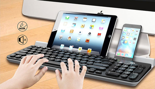 Universal Wireless Bluetooth Keyboard to Pair with All Your Devices