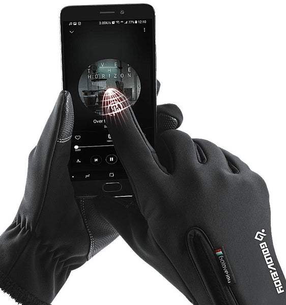 Keep Texting Outside with Touchscreen Winter Gloves