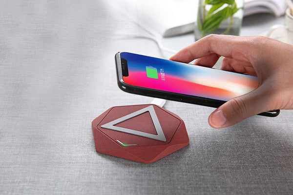 Cut Cables with Faster Wireless Charging Pad