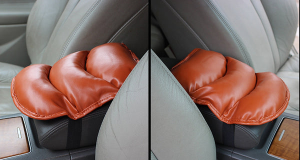 Universal Car Armrest Box Cushion: Relieve Arm Fatigue For Longtime Driving