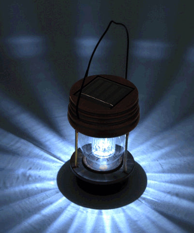 Light The Yard, No Electric No Wires -- Solar Lantern