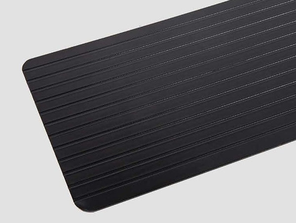 Upgraded Version Time-Saving Fast Defrosting Tray, with Aluminum Alloy Material, for Meat, Beef, Pork, Fish and More
