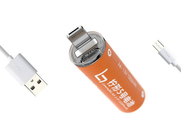 Power up Every Device You Own with Universal Power Bank That Doubles as Rechargeable AA Battery