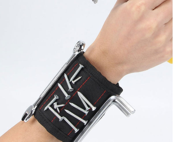 Keep Your Small Tools and Bits Handy with Magnetic Wristband