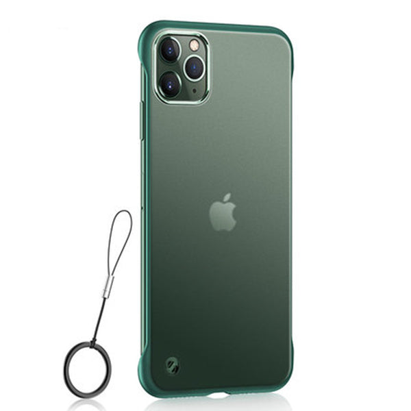 Transparent Frameless Matte Phone Case with Ring and Ultra Slim Design, for iPhone 11/11pro/11pro Max/X/XS/XS Max/XR