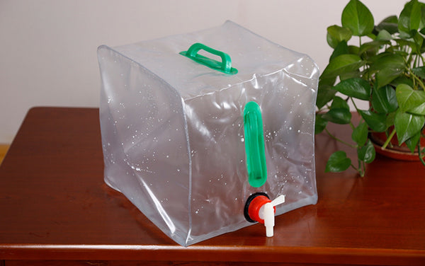 Your Travel Reservoir -- Collapsible Water Bucket