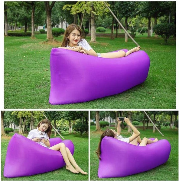 Amazing Portable & Inflatable Lounge Bag For Outdoor Activities