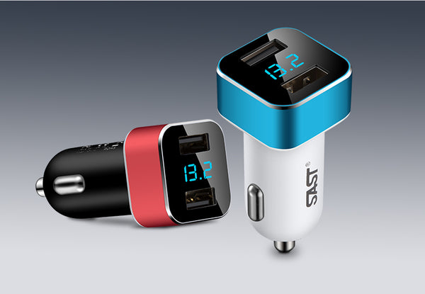 Best 3-in-1 Multi-function High Speed USB Charger for Your Car