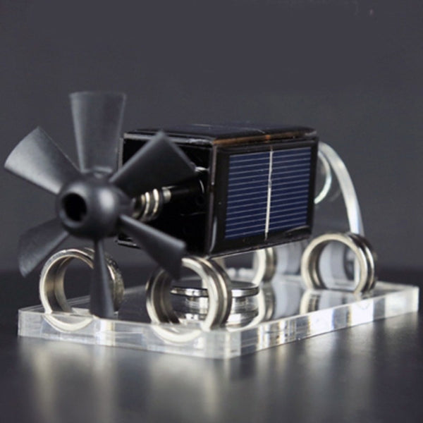 Solar Energy Magnetic Levitation Fan Blade Solar Motor with 300-1500Rpm, for Laboratory & Toys