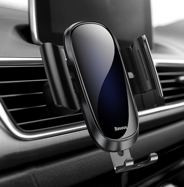 Start Your Trip with a Sparkle with Solid Glass Car Phone Mount