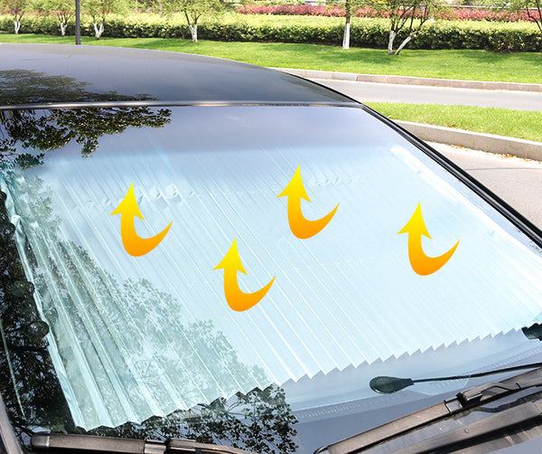 Retractable Car Windshield Shade: Fits Almost Every Car