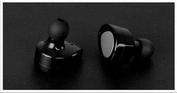 The Real Dual Channel Stereo In-Ear Wireless Earbuds with Charging Case