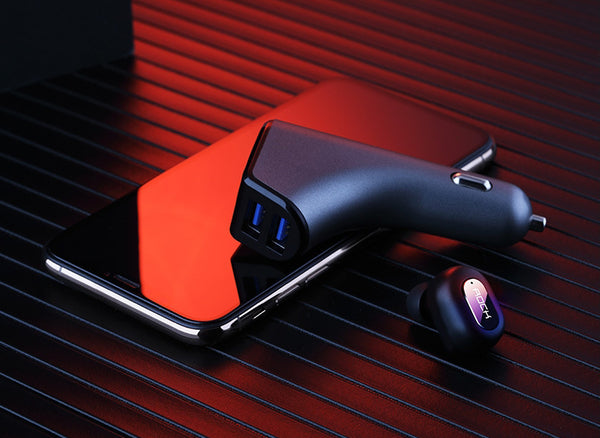 Bluetooth Earphone Car Charger