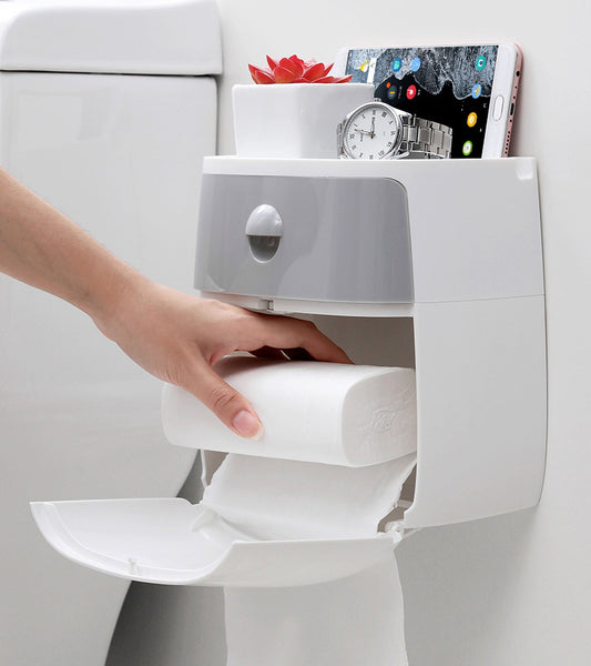 Magic Box For All You Need In Toilet --Toilet Paper Holder